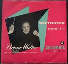 COLUMBIA 33 0CX 1077 BEETHOVEN SYMPHONY NO.5 WALTER NEW YORK PHILH AUS 1ST PRESS