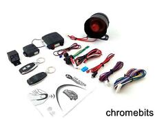 UPGRADE REMOTE CAR ALARM CENTRAL LOCKING SECURITY SYSTEM & SHOCK SENSOR +2 FOBS