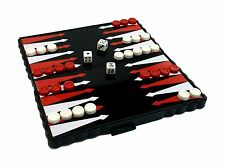 Pocket Travel Board Game Magnetic BACKGAMMON Folding Board 13 x 13 cm
