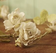 Artificial Rose Flower Garland in Cream by Sass and Belle * Wedding Decor *