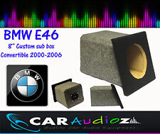BMW E46 Convertible Custom Built Sub Bass Box Enclosure for Subwoofers on sale!