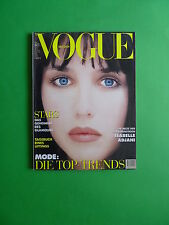 Vogue DEUTSCH August 1994 Isabelle Adjani cover Germany Fashion magazine