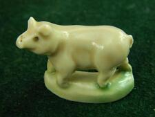 Vintage Wade Whimsie early Pig  from the late 50's