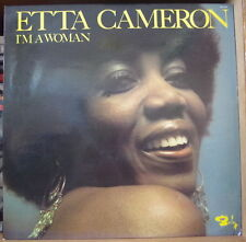 ETTA CAMERON I'M A WOMAN FRENCH LP BARCLAY 1976