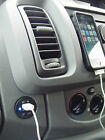 VAUXHALL VIVARO TRAFFIC PRIMASTER DASHBOARD TWIN USB PORTS IPHONE SOCKET B/LED