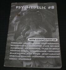 Psychadelic 8 Fanzine HUNGARY IMPORT 2001 RARE DOOM IOMMI WINO SPIRITUAL BEGGARS