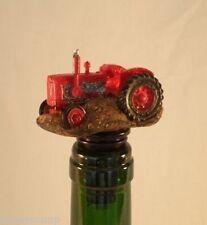 Tractor Tapón Para Vino / Botella / Decoración De Tartas Regalo + Caja