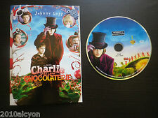 Film DVD : CHARLIE ET LA CHOCOLATERIE (de Tim Burton, avec Johnny Depp)