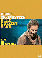 Bruce Springsteen & the E Street Band Live in Barcelona DVD, 2-disc like new