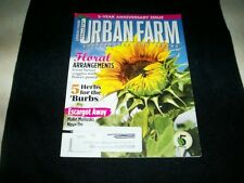 Urban Farm magazine, May/June 2014, 5th year anniversary issue,