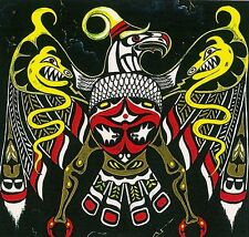 PRINT OF PAINTING NATIVE AMERICAN FOLK INDIAN THUNDERBIRD ABSTRACT CROW SPIRIT