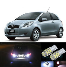 Premium LED Reverse Backup Light Bulbs for 2006 - 2011 Toyota Yaris T15 42SMD