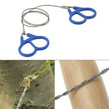 Plastic Steel Wire Survival Gear Outdoor  Saw Ring Scroll Travel Campin