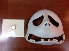 Disney Collectible LE Jack Skellington Porcelain Mask Nightmare Before Christmas