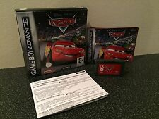 Disney Pixar Cars - Nintendo Gameboy Advance Game - Boxed With Manual