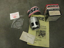 WISECO PISTONI KIT 66mm YAMAHA rz350 rd350 yfz350 Banshee piston kit o/s 2mm NUOVO