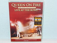 "*****DVD-QUEEN""QUEEN ON FIRE-LIVE AT THE BOWL""-2004 EMI Music DoDVD*****"