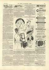 1893 Miss Nesbitt And Bogus Baby New York Harbour Review