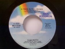 """TOM PETTY """"A FACE IN THE CROWD / A MIND WITH A HEART OF IT'S OWN"""" 45 NEAR MINT"""