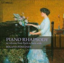 "NEW Piano Rhapsody: An Odyssey From Bach To Satie by Roland P""ntinen CD (CD)"