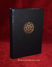 PYRAMIDOS: Self Initiation in the Aeon of Horus LIMITED LEATHER Aleister Crowley