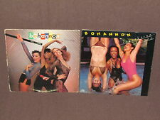 BOHANNON 2 LP RECORD ALBUMS LOT COLLECTION Summertime Groove/Cut Loose DISCO POP