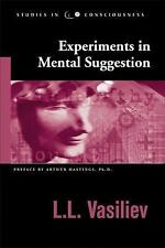 Studies in Consciousness: Experiments in Mental Suggestion by L. L. Vasiliev...