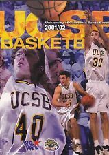 ORIGINAL 2001-02 UC BAKERSFIELD BASKETBALL MEDIA GUIDE FREE SHIPPING IN USA