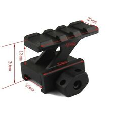 Tactical Rail Mount High Riser Mount Scope Mount fits 20mm Picatinny
