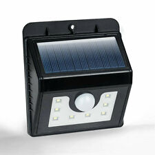 Bright SMD LED Solar Powered PIR Motion Sensor Wall Light Outdoor Night Security