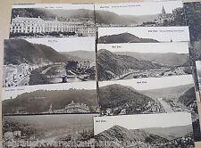 Postkarten in schwarz weiß von Bad Ems von 1900 unbeschrieben- 18 Stück