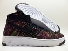 NIKE AF1 ULTRA FLYKNIT MID AIR FORCE 1 MULTI-COLOR SIZE MEN'S 9 [817420-002]