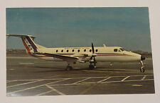 Bar Harbor Airlines Beech 1900 Airplane Aviation Postcard