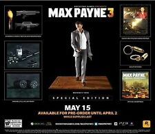 Max Payne 3: Special Edition [Xbox 360, NTSC, Limited Collector's Edition] NEW