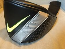 *FAST SHIP* Brand New Nike Golf Vapor Black Yellow Volt Driver Leather Headcover