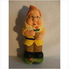 11 INCH GNOME WITH FLOWERPOT  .LATEX MOULD/MOULDS/MOLD