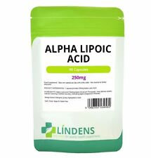 Alpha Lipoic Acid 250mg, 90 Capsules