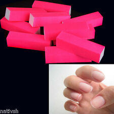 10pcs Buffing Sanding Buffer Block Files Manicure Nail Art Tips Accessory New