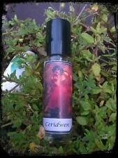 Ceridwen Perfume Oil, Welsh goddess, witch, cauldron, pagan, 10ml roll on