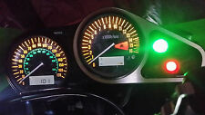 WHITE zx6r g1 g2 led dash clock conversion kit lightenUPgrade