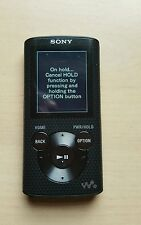 Sony Walkman NWZ-E384 Black (8GB) Digital Media Player.FREE POSTAGE.