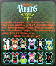"DISNEY VINYLMATION 3"" VILLAINS 1 SERIES SEALED BLIND BOX CHASER? UNOPENED TOY"