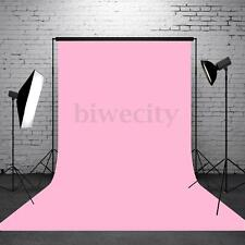 5x7FT Vinyl Pure Pink Photography Background Backdrop Photo For Studio Props