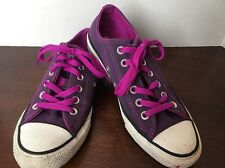 Converse All Star Purple Sneakers Women's 7