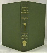 Physiological Medical Observations Indians Southwestern USA North Mexico 1908 HC
