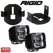 Rigid Radiance LED Fog Light Kit White Backlight for 06-14 Ford F150 46527 20200