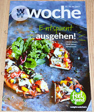 Weight Watchers Feel Good Woche 15.1 - 21.1 SmartPoints 2017 Wochenbroschüre NEU