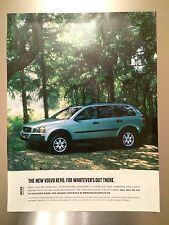 Volvo XC90 ORIGINAL Magazine Advert  - FREE P & P