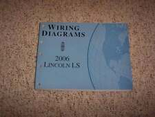 2006 Lincoln LS Electrical Wiring Diagram Manual 3.0L V6