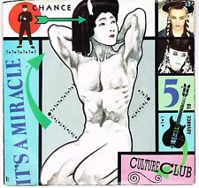 """Culture Club  It's  a Miracle  Single  7"""" 45 RPM"""